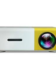 Недорогие -YG300 светодиодный мини-проектор 320x240 пикселей поддерживает 1080p HDMI-портативный HDMI-проектор домашний медиа-видео плеер