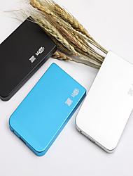 Недорогие -yd0004 2,5-дюймовый USB3.0 к SATA3.0 внешний съемный жесткий диск пластик черный / серебристый / синий