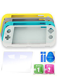 cheap -Nintendo switch lite silicone kit mini game console full protective case sent steel film