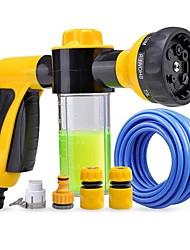cheap -Household Water Sprayer Gun Set Car Wash Foam Machine Water Gun Home High Pressure Car Wash Water Gun Set Car Brush Car Tool