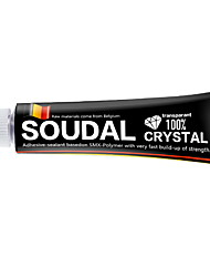 cheap -Soudal Import Speed Austria Full Transparent Nail-free Glue Quick-drying Strong Punch-free Glue Glass Glue Drill-free Glue 12ml