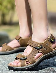 cheap -Men's Hiking Shoes Comfortable Running Jogging Autumn / Fall Summer khaki Green Brown