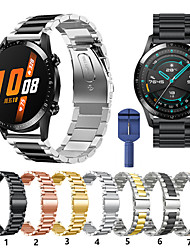cheap -For Huawei Watch GT Active/watch GT/Honor Magic/watch 2 pro Metal Smart Watch Band Strap Stainless Steel