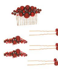 Недорогие -Модные заколки для волос из ткани с пледом