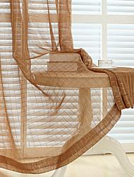 Недорогие -две панели современный минималистский стиль квадратная решетка полупрозрачный экран окна гостиной спальни окно экрана