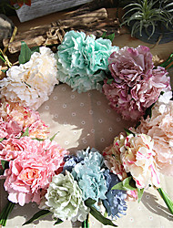 ieftine -27cm bujor tiffany albastru floare artificială care deține flori nunta 1 stick
