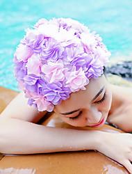 Недорогие -Шапочки для купания для Взрослые Лайкра Воздухопроницаемость Мягкий Удобный Плавание Водные виды спорта