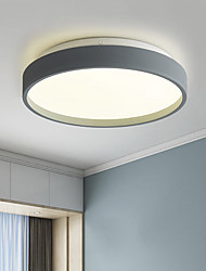 cheap -23 cm Geometric Shapes Flush Mount Lights Metal Acrylic Painted Finishes LED Nordic Style 110-120V 220-240V