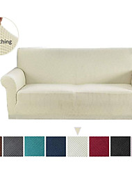 cheap -Jacquard Sofa Slipcover (You will Get 1 Throw Pillow Case as free Gift) Stretch Couch Slip Cover Spandex Furniture Protector for 3 Cushion Seater Sofa Cover for Living Room Machine Washable