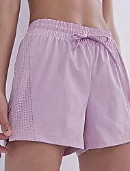 cheap -Women's Sporty Loose Shorts Pants - Print High Waist White Black Blue S / M / L