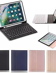Недорогие -Bluetooth для беспроводной клавиатуры чехол для Ipad 9,7 с держателем карандаша смарт-устройств искусственная кожа полный чехол для Ipad Air