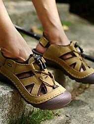 cheap -Men's Hiking Shoes Breathable Quick Dry Anti-Slip Comfortable Running Hiking Jogging Summer khaki Brown