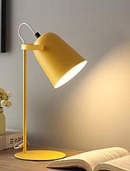 Недорогие -Настольная лампа Защите для глаз / Регулируется / Диммируемая Современный современный Назначение Спальня AC100-240V Синий / Желтый / Розовый