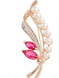 cheap -Brooches Hollow Out Flower Fashion Brooch Jewelry Gold For Gift Festival