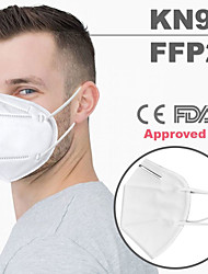 cheap -20 pcs KN95 FDA CE EN149:2001 Standard FFP2 Face Mask Respirator Protection CE FDA Certification High Quality White / Filtration Efficiency (PFE) of >95%