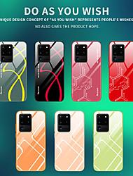 Недорогие -Жидкий силиконовый край Закаленное стекло чехол для Samsung Galaxy S20 Ultra S20 Plus S10 Plus 5 г Note 10 Pro S10E новый дизайн чехол для телефона противоударная задняя крышка
