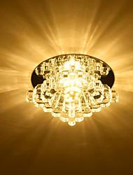 cheap -10 cm Geometric Shapes Flush Mount Lights Metal Electroplated LED Modern 110-120V 220-240V