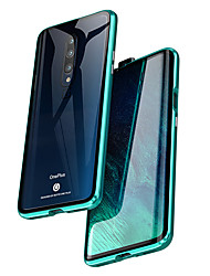 cheap -Magnetic Double Sided Case For OnePlus 7T Pro /Oneplus 7 Pro / Oneplus 6T Shockproof / Water Resistant / Transparent Tempered Glass / Metal Case For Oneplus 7 / Oneplus 7 pro / OnePlus 6