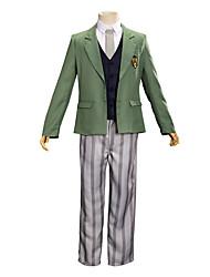 Недорогие -Вдохновлен BEASTARS Косплей Аниме Косплэй костюмы Японский Инвентарь Пальто Жилетка Брюки Назначение Муж. Жен. / Пояс / пояс