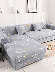 cheap -Nordic Simple Wind  Elastic Sofa Cover Stretchable Single Three Person Combination Sofa Cover