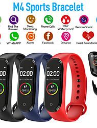 cheap -M4 Sports Fitness Pedometer Color IPS Smart Screen Bracelet Blood Pressure Bracelet Walking Counter Smart Bracelet Men's Women's Watch