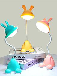 Недорогие -Настольная лампа Современный современный Назначение Офис <36V Желтый / Розовый / Зеленый