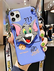 cheap -Phone Case For Apple Back Cover iPhone 12 Pro Max 11 SE 2020 X XR XS Max 8 7 6 iPhone 11 Pro Max SE 2020 X XR XS Max 8 7 6 IMD Pattern Cartoon TPU