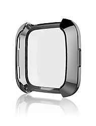 cheap -Cases For Fitbit Fitbit Versa Silicone Screen Protector Smart Watch Case Compatibility