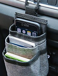 cheap -Car Air Vent Pocket Organizer Storage Container Bags Phone Holder Car Stowing Tidying Auto Interior Accessories