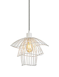 cheap -35 cm Lantern Desgin Pendant Light Metal Painted Finishes Nature Inspired / Traditional / Classic 110-120V / 220-240V