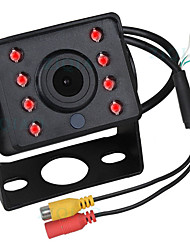 cheap -ZIQIAO 480TVL 720 x 480 CCD Wired 140 Degree Rear View Camera Waterproof / Plug and play / Night Vision for Bus / Truck