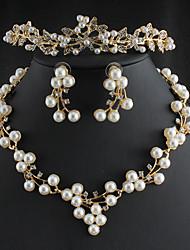 Недорогие -женский кристалл кулон ожерелье сердце цветок романтический сладкий хром красный 45 см ожерелье ювелирные изделия для свадебного подарка ежедневное обещание