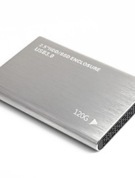 cheap -LITBEST YD0011 HDD Mobile High Speed External Portable Hard Disk Personal Cloud Smart Storage 2.5 Inch USB3.0 Silver 120G / 160G / 250G / 320G / 500G