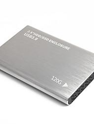 Недорогие -litbest yd0011 hdd мобильный высокоскоростной внешний портативный жесткий диск персональное облако интеллектуальное хранилище 2.5 дюймов usb3.0 серебристый 120 г / 160 г / 250 г / 320 г / 500 г