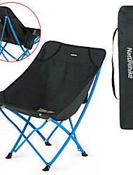 cheap -Naturehike Camping Chair Portable Lightweight Breathable Foldable Oxford Steel for 1 person Camping / Hiking Fishing Beach Traveling Autumn / Fall Spring Red Black