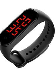 Недорогие -V8T Универсальные Смарт Часы Умные браслеты Android iOS Bluetooth Сенсорный экран Длительное время ожидания Термометр Высокое качество С двумя часовыми поясами Температурный дисплей