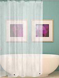 cheap -Mildew Resistant Peva Antibacterial Waterproof Shower Curtain Modern Bathroom Curtain With Hook 180cmx180cm