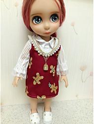 Недорогие -Sharon наборы 16-дюймовые куклы одежду принцессы платье Red Hat и принадлежности к одежде три свободных ребенка