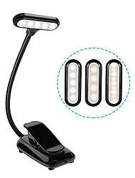 cheap -Reading Light Rechargeable / Eye Protection / Adjustable Modern Contemporary USB Powered For Bedroom / Study Room / Office DC 5V White / Black