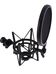 Недорогие -студия звукозаписи микрофон подставка для крепления микрофона боп для компьютера конденсаторный микрофон держатель металлический амортизатор