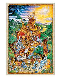 Недорогие -1000 pcs Замок Знаменитое здание Пазлы Головоломка для взрослых Огромный деревянный Взрослые Игрушки Подарок