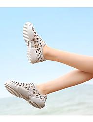 Недорогие -Универсальные Этиленвинилацетат Лето На каждый день Сандалии Для плавания / Дышащая спортивная обувь Дышащий Красный / Синий / Белый