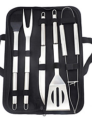 cheap -Barbecue Accessories 6-piece Tool Outdoor Portable Tote Bag Baking Kit Set On Spot