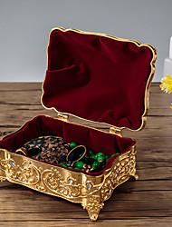 Недорогие -Упаковка ювелирных изделий - Золотой, Серебряный 12 cm 9 cm 7.2 cm / Жен.