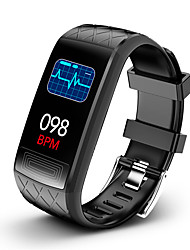 cheap -KUPENG V3E Unisex Smartwatch Android iOS Bluetooth Waterproof Heart Rate Monitor Blood Pressure Measurement Sports Information ECG+PPG Pedometer Call Reminder Activity Tracker Sleep Tracker