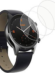 Недорогие -3 шт. Защитная пленка для ticwatch 2 / pro / c2 / s2 / e2 умные часы из закаленного стекла пленка против царапин высокой четкости