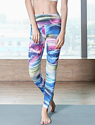 cheap -Activewear Pants Pattern / Print Gore Women's Daily Wear Running Natural Nylon
