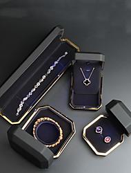 Недорогие -Пентаграмма Упаковка ювелирных изделий - Нержавеющая сталь Черный, Белый, Синий 4 cm 7.5 cm 5.5 cm / Жен.