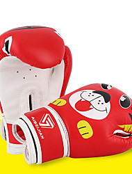 cheap -Boxing Gloves For Martial Arts Muay Thai MMA Kickboxing Durable Shock Absorption Breathable Shockproof Kids Adults Women's Men's - Red / White Black Red