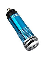 cheap -Mini Car Air Purifier 12V Mini Auto Car Fresh Air anion Ionic Purifier Oxygen Bar Ozone Ionizer cleaner Vehicle Air Freshener